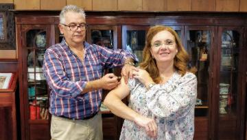 La Junta Directiva del Colegio de Médicos de Sevilla se suma a la campaña Protegi2 contra la gripe