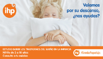 Grupo IHP pide la colaboración de las familias para un estudio sobre los trastornos del sueño en la infancia